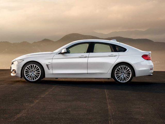BMW 4 Series Gran Coupe White