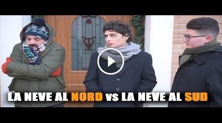 La NEVE al NORD vs la NEVE al SUD #CasaSarice #divertente