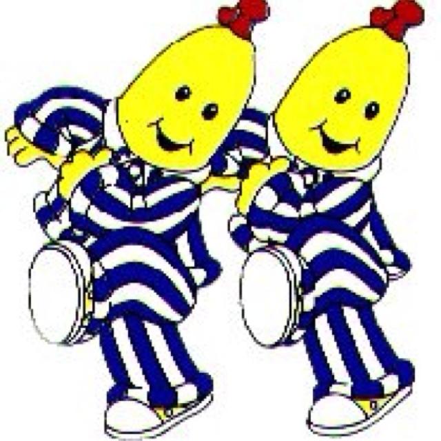 Bananas in Pajamas....Australian TV show for kids...