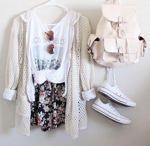 Teenage girl style