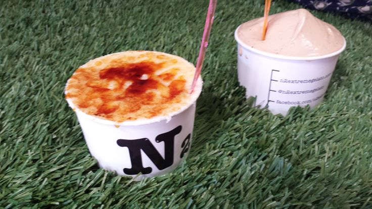 Creme Brulee ice cream from N2 - 329 BRUNSWICK ST FITZROY. Why didn't someone think of this sooner?! It's genius.