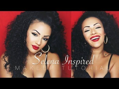 Selena Quintanilla Makeup Tutorials, vivaglamkay, Kay-Lani Martinez, beauty tutorial, latina