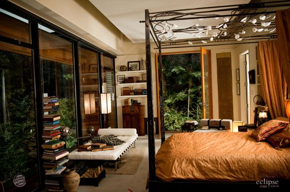 twilight eclipse the cullen house edward 39 s bed room