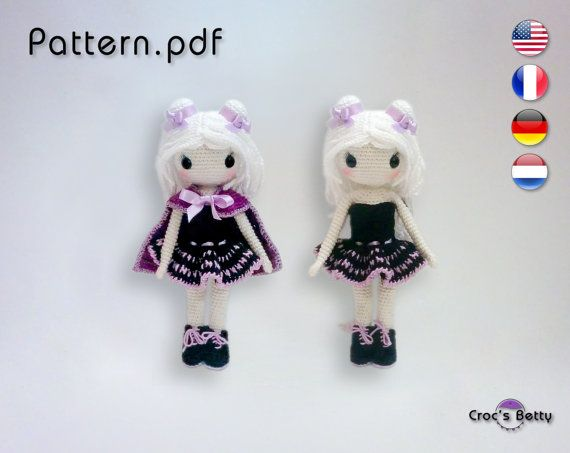 Pattern  Brownie Gothic by CrocsBetty on Etsy