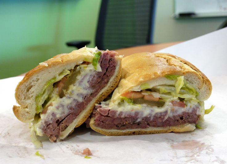 Missouri: Hot Salami Sandwich
