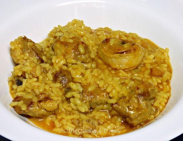 Arroz Caldoso Con Pollo Y Costilla De Cerdo Cooking Lover Cookery Mediterranean Recipes