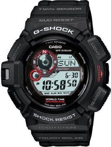 Casio G Shock Mudman Digital Dial Men's Watch - G9300-1 Casio. $289.95