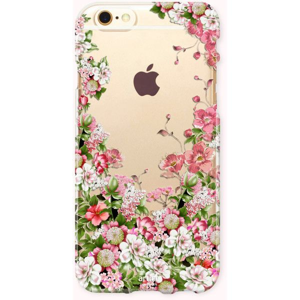 Floral iPhone 7 Case, iPhone 7 Plus Case, iPhone 6/6S Case, iPhone... ($13) ❤ liked on Polyvore featuring accessories, tech accessories, iphone cover case, iphone cases, galaxy iphone case, pattern iphone case and floral iphone case