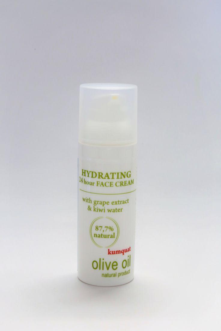 HYDRATING & UV PROTECTION FACE CREAM kumquat