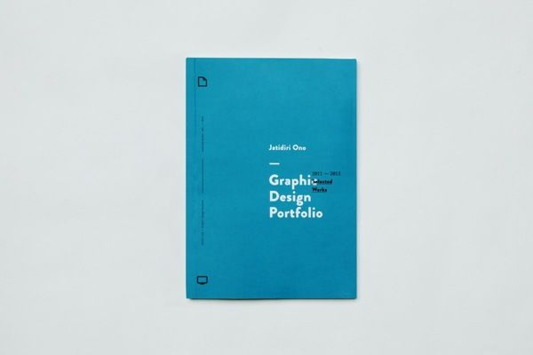 Portfolio & CV — 2013 by Jatidiri Ono, via Behance