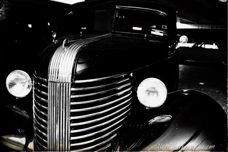 12x18 in. Vintage Black & White Pontiac Poster, Hotrod Garage Art Man Cave