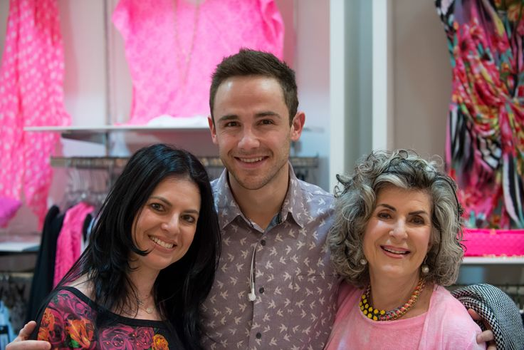 Shirley and Niki with actor/singer #DanielBuys
