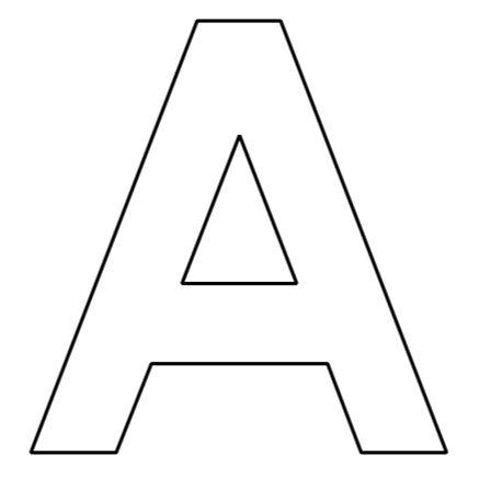Buchstaben des Alphabets zum Ausdrucken | Lettering ...