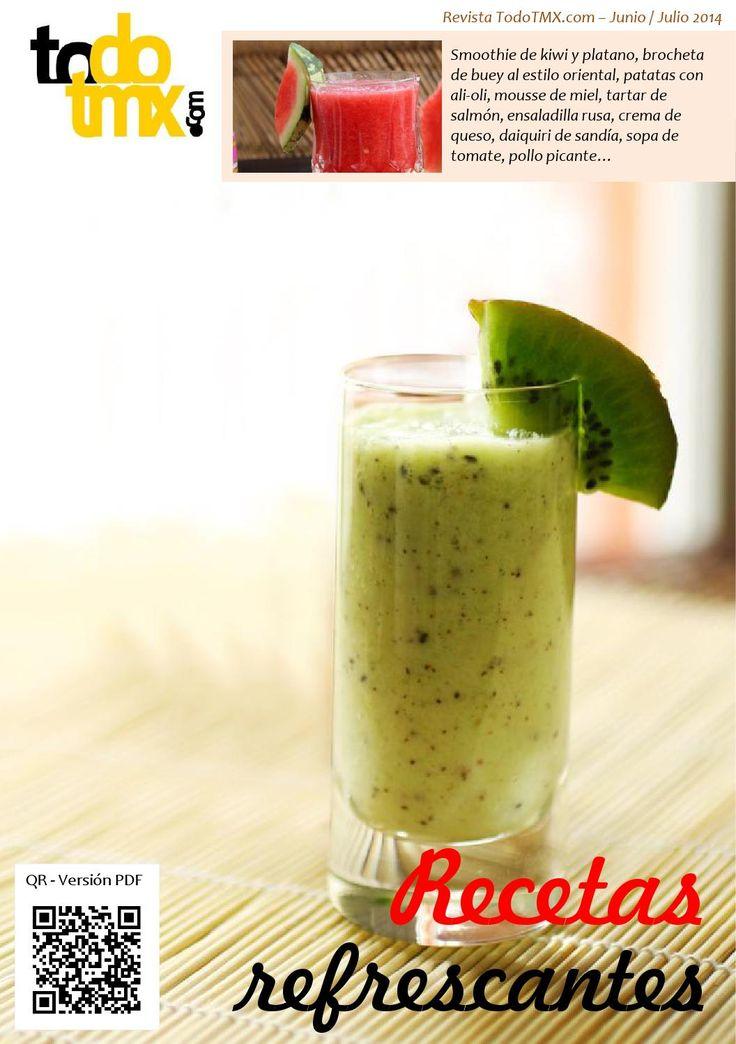 Todo Thermomix - Junio / Julio 2014  Revista digital dedicada a Thermomix con recetas, trucos, nutrición. Este mes está dedicada a las recetas refrescantes para combatir el calor del verano.