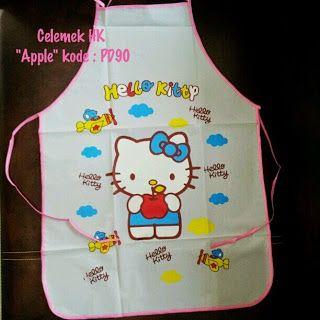 Toko Cherish Imut: Celemek Masak Hello Kitty Murah  Grosir Ecer Apple...