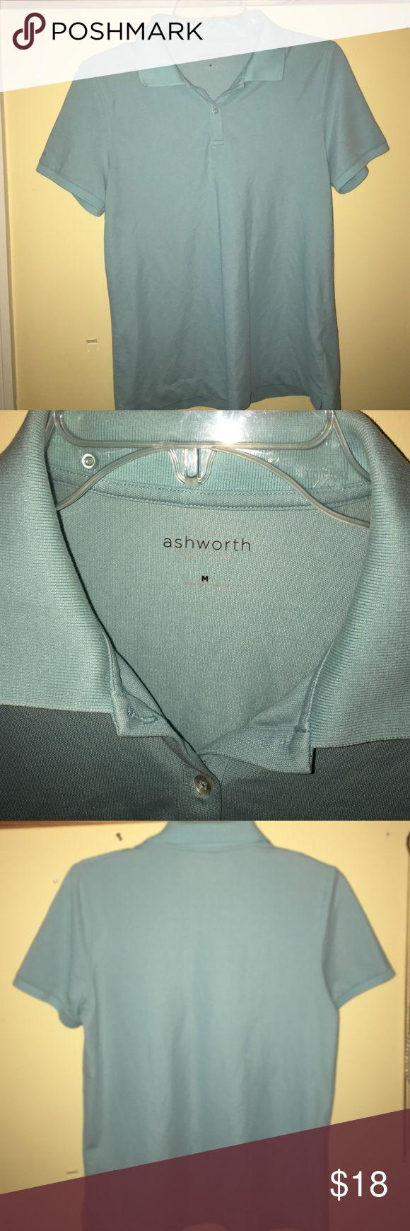 Light blue ash worth golf shirt - new Ashworth golf shirt Ashworth Tops Tees - Short Sleeve