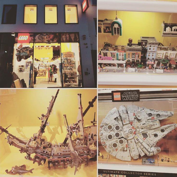 Heute zu Besuch im Legostore Nürnberg... Heute gabs nur Minifiguren aber wir haben diesen riesigen Millennium Falken gesehen und eine super Idee für die Häuser in unserer Stadt mitgenommen... #lego #legofant #legofreak #legophoto #legophotography #legostagram #legostarwars #starwars #legomillenniumfalcon #millenniumfalcon #riesig #bauen #fluchderkaribik #piratesofthecaribbean #silentmary #legostore #nuernberg #legocity #legocitylife #legostyle #brickstagram #legoismylife