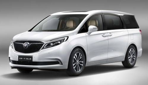 Buick Previews All-New 2017 GL8 Luxury Minivan for China