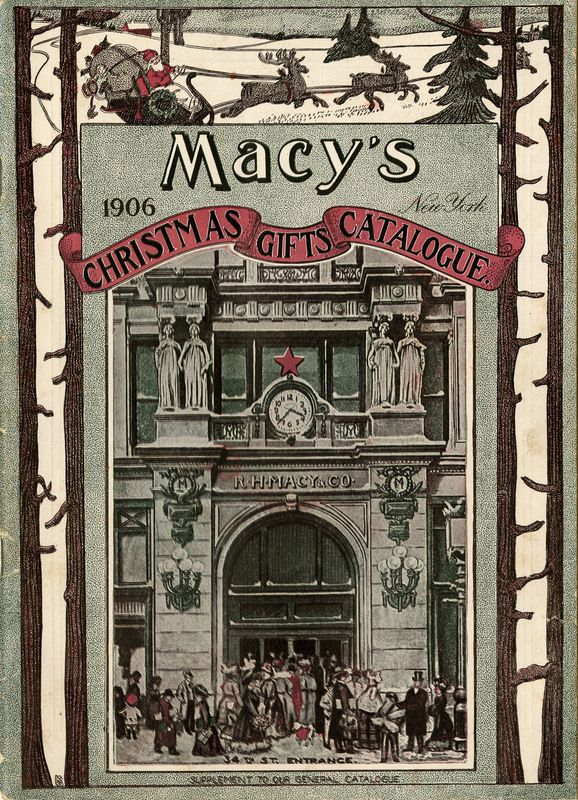 1906 - Macy's Christmas Gifts Catalogue.   Winter ...