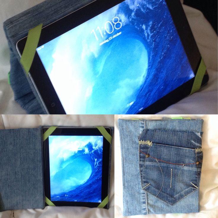 iPad hoes denim hergebruik