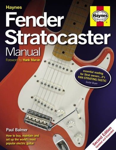 Haynes Fender Stratocaster Manual: 2nd Edition. £21.99