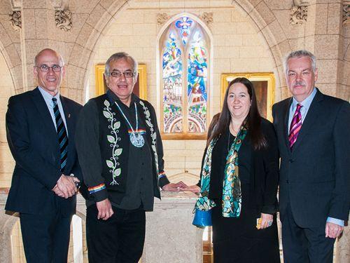 #Aboriginal #Affairs, Michael Wernick (far left)