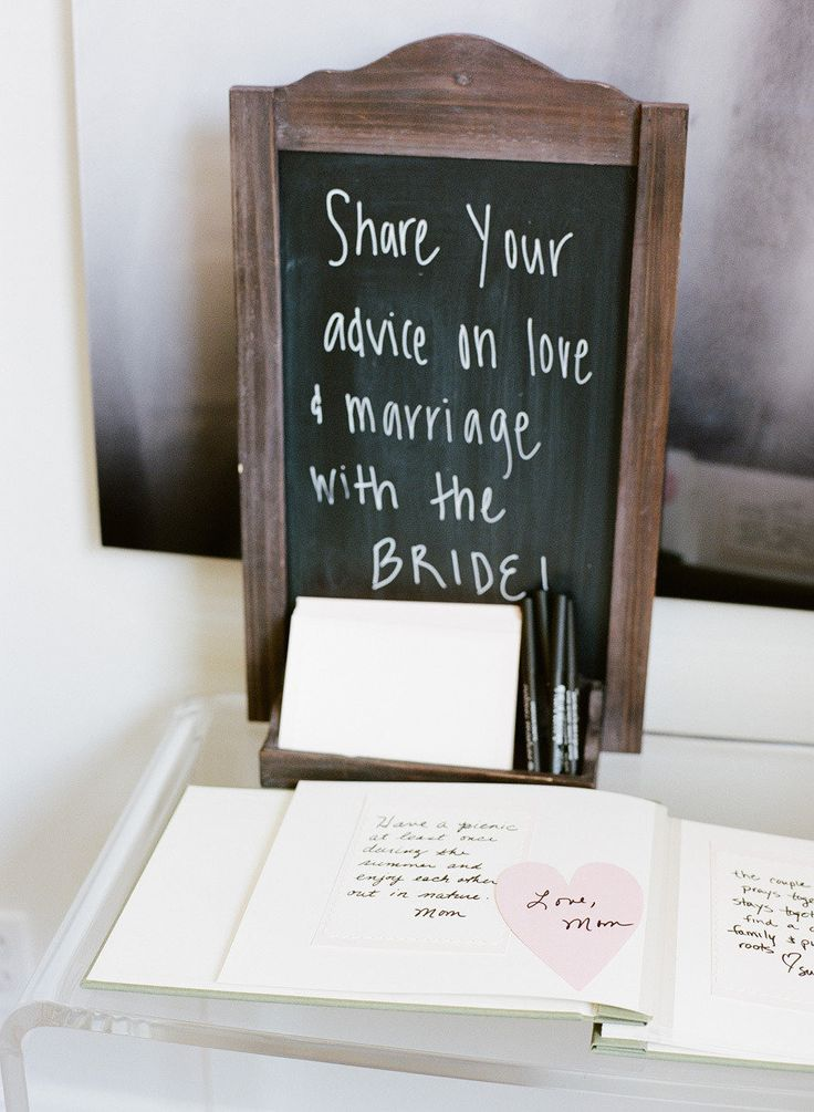 free bridal shower advice card template%0A Adorable idea for the bridal shower  Advice to the bride on love  u     marriage