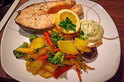 Lachs vom Blech, ein schönes Rezept aus der Kategorie Gemüse. Bewertungen: 90. Durchschnitt: Ø 4,4.