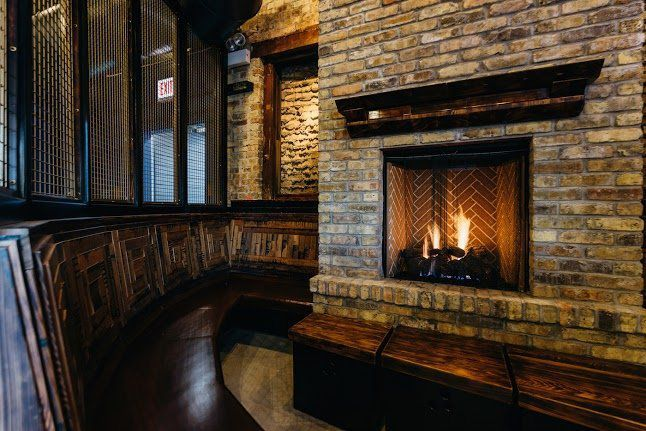 Chicago S Best Restaurants Bars With Fireplaces Fireplace