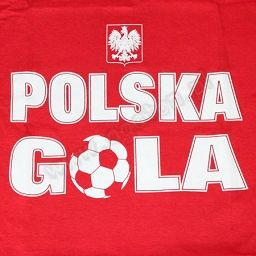 Koszulka Polska Gola - czerwona