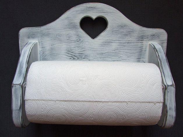 Coat Hooks – Wieszak na ręcznik papierowy vintage shabby chic – a unique product by Artfolk on DaWanda