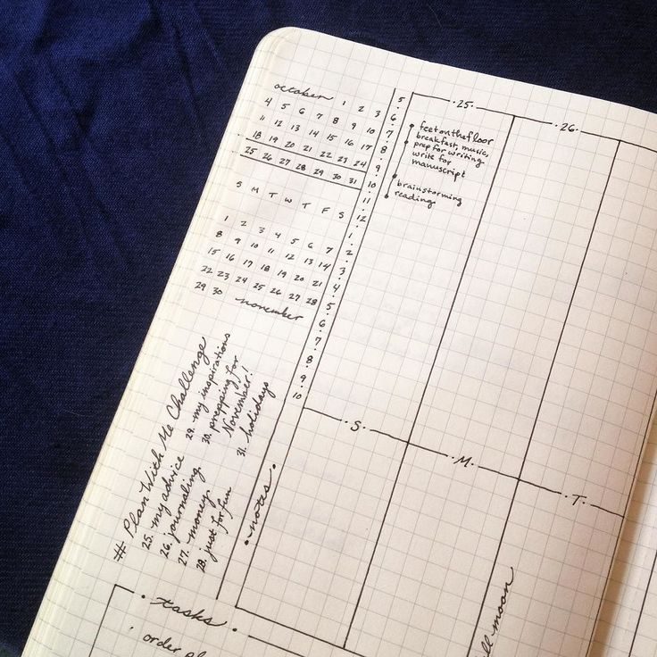 My advice? Don't feel like you have to go all out on decorating using color and otherwise personalizing your bullet journal - a lot of the beauty of the bujo is it's simplicity! by jordanelisheva