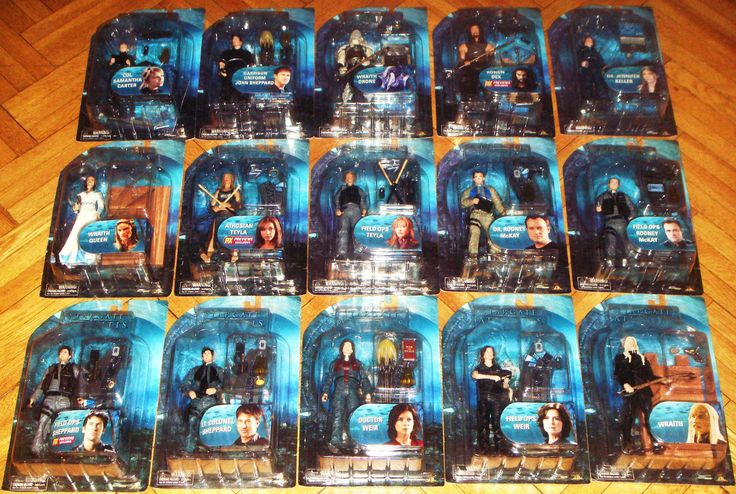 Stargate McKay Atlantis Series 1 2 3 Diamond Select Toys Collection Set Lot | eBay
