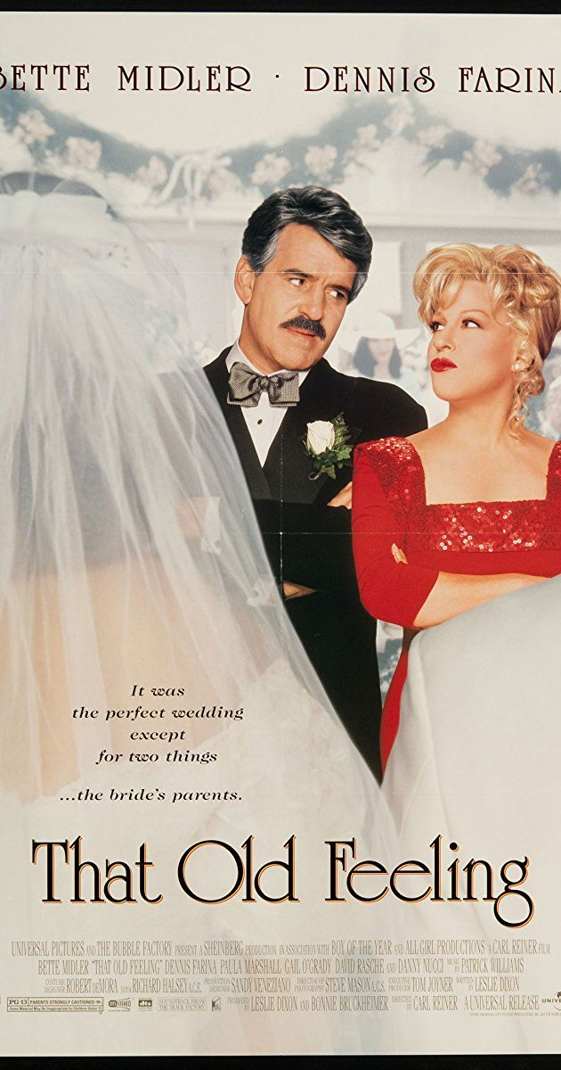 Directed by Carl Reiner. With Bette Midler, Dennis Farina, Paula Marshall, Gail O'Grady. A bride's divorced parents find their old feelings for each other during the wedding reception and over the course of the next few days upsetting the newlywed's honeymoon.