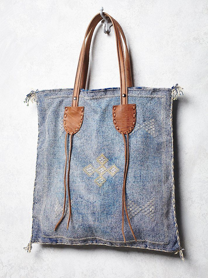 embellished boho tote from free people