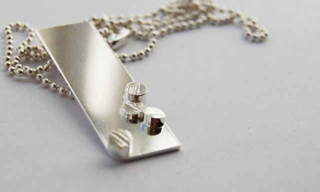 Pieces. Silver necklace. #silver #necklace #gifts #graduation #student #nordicdesigncollective