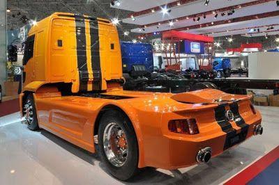 Caminhões Tunados e Personalizados   Carros Tunados e Antigos