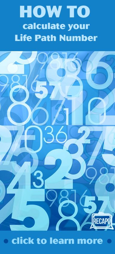 How To Calculate Your Life Path Number In Numerology 1