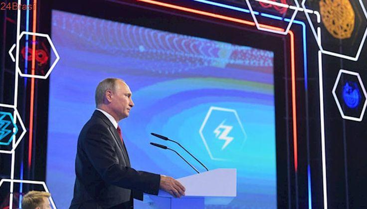 Quem liderar em Inteligência Artificial vai comandar o mundo, diz Putin para crianças russas