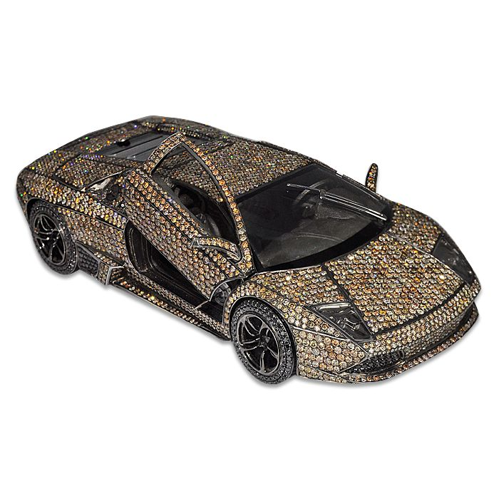 Lamborghini Car by Jacob & Co. - 18K rose gold and silver ...