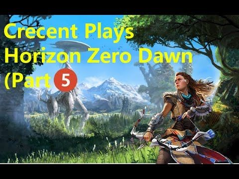Horizon Zero Dawn (Part 5) Fight the Goliath to leave your home!