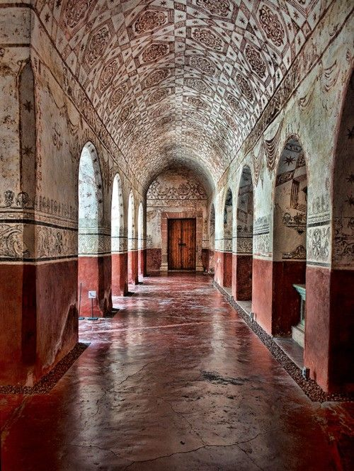 Ex convento de la Natividad, Tepoztlán, Morelos, México.