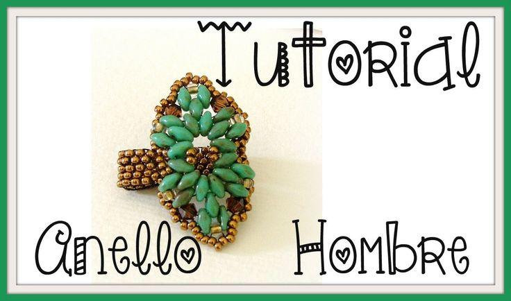 DIY - Tutorial anello SuperDuo Hombre | Beads Ring