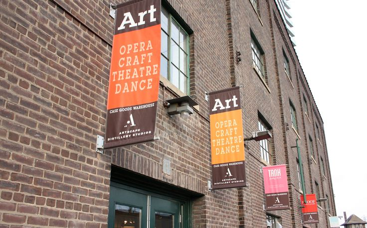 The Distillery District, Toronto, A hub of Art & Culture.