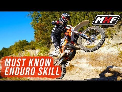 How To Wheelie A Dirt Bike Over A Log In 3 Easy Steps Youtube