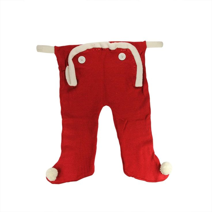 20 Red and White Knit Long Underwear Union Suit Christmas Stocking