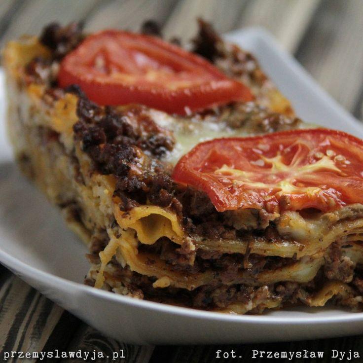 Lasagne bolognese – Przemysław Dyja Kulinarnie