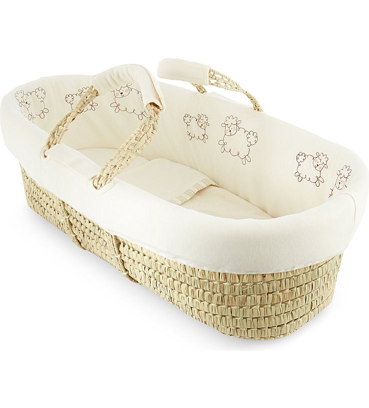 High Quality Keep Your Precious Bundle Of Joy Warm, Cosy And Comfy With This Moses Basket  From Natures Purest. Embroidered With The Brandu0027s Cute Sleepy Sheepy  Character, ... Awesome Ideas