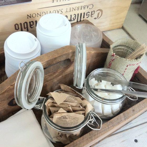 coffee bar tray ideas - Google Search