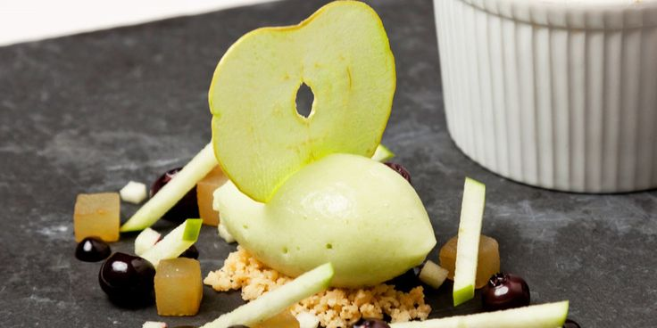 Simon Haigh's apple sorbet recipe is packed with the rounded, mellow flavour of Granny Smith apples